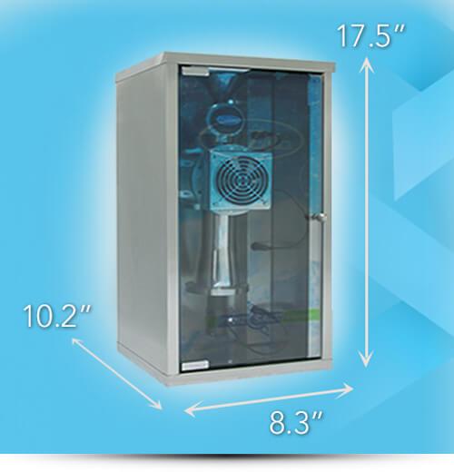 Prizma Halogenerator technical specs