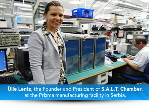 Ulle Lentz at Prizma Factory